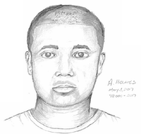 Police on Friday released a sketch of the suspect wanted in connection with the assault.<br>(Dallas Police Department<br>/Dallas Police Department<br>)