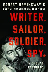 <i>Writer, Sailor, Soldier, Spy</i> by Nicholas Reynolds(HarperCollins)