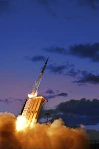 One of Lockheed Martin's missiles in action. (Lockheed Martin)