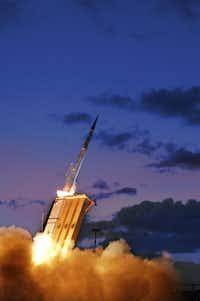 One of Lockheed Martin's missiles in action.(Lockheed Martin)