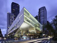 "<p><span style=""font-size: 1em; background-color: transparent;""><p>The Julliard School in New York City where five <span style=""font-size: 1em; background-color: transparent;"">Booker T. Washington High School for the Performing and Visual Arts students will attend in August.</span></p></span></p>(Chris Cooper)"
