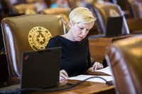 "<p><span style=""font-size: 1em; background-color: transparent;"">""We have a unique opportunity as a state to step in and prevent this young woman or young man from getting diagnosed with either cervical or head and neck cancer,"" said Rep. Sarah Davis, R-West University Place. ""To not do so is immoral.""</span></p>(Ashley Landis/2015 File Photo)"