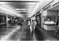 The store on the right that these young women were probably heading into was called Mode O' Day. It was a popular dress store for young women that sold its own brand -- basically the J.Crew of the late 1960s.(NorthPark Center)