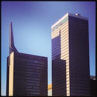 "<p><span style=""font-size: 1em; background-color: transparent;"">Hamilton made his mark in downtown Dallas as the architect of the second Republic Bank Tower</span></p>(Mark Lamster)"