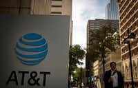 "AT&T chief financial officer John Stephens said ""we need to reduce the top corporate rate."" (G.J. McCarthy/Staff Photographer)"