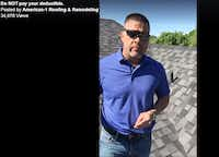 "Roofer James Delagarza in his viral Facebook video called ""Do not pay your deductible."" The Watchdog fact checks him."