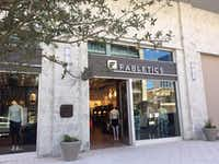 Fabletics by Kate Hudson opened in Plano's Legacy West in May 2017.(Maria Halkias/DMN Staff)