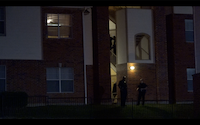 Police investigate an overnight shooting at an apartment complex in central Oak Cliff.