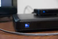 "DirecTV's talking Genie set-top box can help people who are blind or vision impaired to flip through channels or follow along with a TV show(<p><span style=""font-size: 1em; background-color: transparent;"">Julia Robinson/Special Contributor</span></p>)"