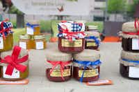 "<p>MaDear's Jellies is one of the vendors at the opening day of St. Michael's Farmers Market in Dallas. (<span style=""font-size: 1em; background-color: transparent;"">Allison Slomowitz</span><span style=""font-size: 1em; background-color: transparent;"">).</span></p>"