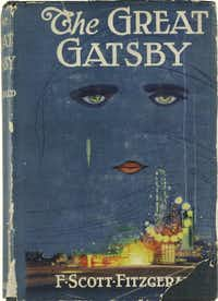 A first edition of  F. Scott Fitzgerald's <i>The Great Gatsby </i>that was auctioned in 2013. (Sotheby's /DMN file/AP)