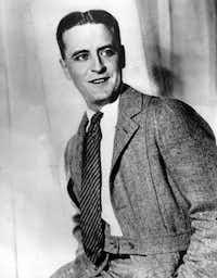F. Scott Fitzgerald in an undated photo.(/(DMN file/AP))
