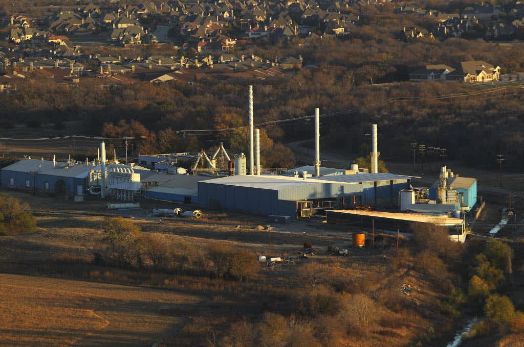 The Exide Technologies plant in Frisco, shown here on Nov. 28, 2012, has since been dismantled.(File photo)