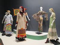 The Summer of Love exhibit at the de Young Museum features incredible, colorful fashions. (Robin Soslow)