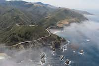 On the road from San Francisco to Los Angeles, look for the Big Sur coastline and Bixby Bridge. (seemonterey.com)