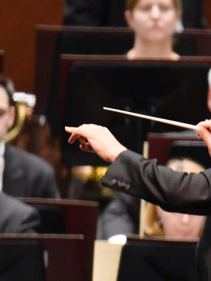 Bass Hall security escorted FW Symphony conductor Harth-Bedoya out