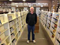 Sam Wade will be closing Premiere Video 33 years after he opened a Video Works franchise in Lake Highlands.(Robert Wilonsky/Staff)
