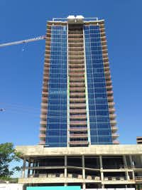 The Bleu Ciel tower has more than 150 condos.(Steve Brown)