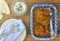 Carrot Feta Fritters(Ellise Pierce/<br>)