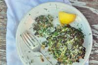 Kale Ricotta Fritters(Ellise Pierce/<br>)
