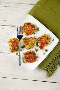Zucchini fritters(Tom Fox/Staff Photographer)
