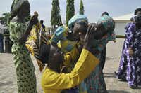 "<p><span style=""font-size: 1em; background-color: transparent;"">Fifty-seven escaped in the hours that followed but 219 were not so lucky. Since then, 106 girls have been found, rescued or released, including 82 who were freed earlier this month in a prisoner swap deal for a number of Boko Haram suspects in custody.&nbsp;</span><span style=""font-size: 1em; background-color: transparent;"">(AP Photo/Olamikan Gbemiga)</span></p><p></p>"