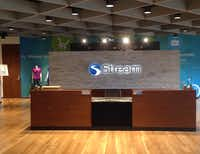 Stream Energy's offices are right off the lobby in the Addison office building.(Steve Brown/Staff)