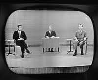 "<p>John F. Kennedy&nbsp;<span style=""font-size: 1em; background-color: transparent;"">out-maneuvered rival Richard Nixon in the campaign's most crucial event, the first ever televised debate and the only one of that year's four that ultimately mattered.</span></p>(The Associated Press)"