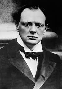 A 1915 file image of Sir Winston Churchill(Associated Press file photo)