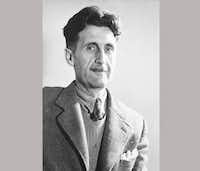 An undated image of George Orwell(Associated Press file photo)