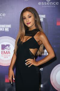 Singer Ariana Grande in 2014. (Joel Ryan/The Associated Press)
