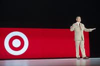 Target CEO Brian Cornell said the border adjustment tax would be a burden on American families.(File Photo/The Associated Press)