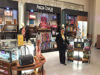 Pineda Covalin is one of the many Latin-influenced stores that await customers at El Palacio de Hierro.(Jay Jones/Special Contributor )