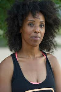 Veleisa Burrell's passion for yoga led her to become certified as an instructor.  (Robert W. Hart/Special Contributor)