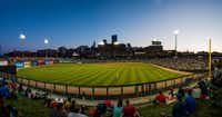 The Saints AAA baseball team plays at the new CHS Field in St. Paul's Lowertown. (Robert Ferdinandt/Visit Saint Paul)