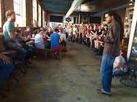 "Darius Frasure performs at Lit Hop in 2016.(<p><span style=""font-size: 1em; background-color: transparent;"">Courtney Marie</span><br></p><p></p>)"
