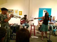 """Tamitha Curiel performs at LitHop in 2016. (<p><span style=""""font-size: 1em; background-color: transparent;"""">Courtney Marie</span><br></p><p><br></p>)"""