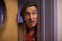 Manchester actor and comedian Steve Coogan plays a hapless radio host on<i>Alan Partridge.</i>His dry sense of humor is typical among Mancunians.(Magnolia Pictures)