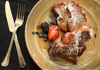 Thai Tea French Toast(Louis DeLuca/Staff Photographer)