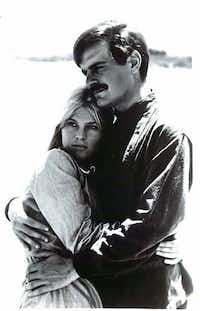 Julie Christie and Omar Sharif starred in the 1965 film version of <i>Doctor Zhivago</i>.