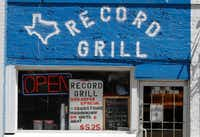 The Record Grill located at 605 Elm St. Dallas, Texas has been in business more than 40 years at the same location. Photo taken on Wednesday, May 23, 2017. (David Woo/The Dallas Morning News)(David Woo/Staff Photographer)