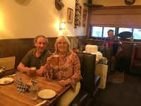 Randy and Paige Flink recently revisited Kuby's in Snider Plaza. On Saturday nights, a polka accordionist entertains diners at the German restaurant.(Paige Flink)