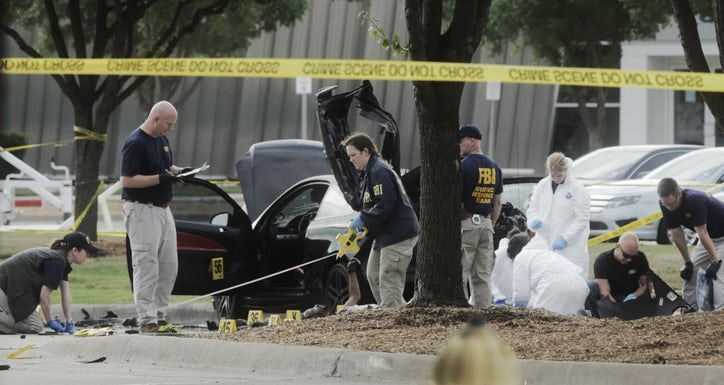 Security guard injured in Garland terror attack tormented by belief