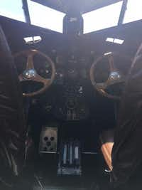 """<p><span style=""""font-size: 1em; background-color: transparent;"""">View into the cockpit from the second row.</span></p>(Jacquielynn Floyd/DMN Staff)"""