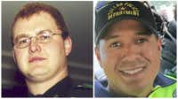 "Dallas Police Department Senior Cpl. Mark Nix and Officer Patricio ""Patrick"" Zamarripa"