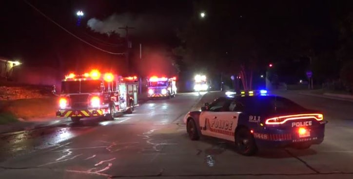 Dog Dies In Arlington House Fire Fire Dallas News