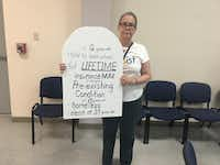 "<p><span style=""font-size: 1em; background-color: transparent;"">Claudette Fette supports single-payer health care, which she believes could have prevented her son's death.</span></p>(Kylie Madry/Staff)"