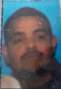 A resident of West Dallas snapped this photo of Miguel Hernandez's driver's license in April after he showed up on her doorstep.(Pat Stephens/Pat Stephens)