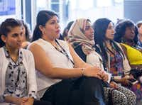 Last year's forum at Trinity University drew 20 woman from five countries. (Women Ambassadors Forum)