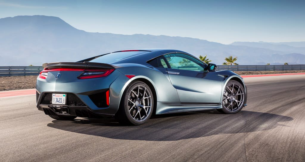 How awesome is Acura's hybrid NSX? Try 0 to 60 in about 3 seconds ...